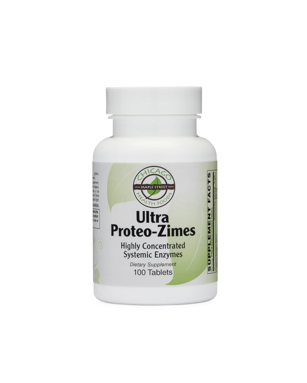 Ultra Proteo-Zimes (systemic enzymes)-supplement-Chicago-Health-Foods