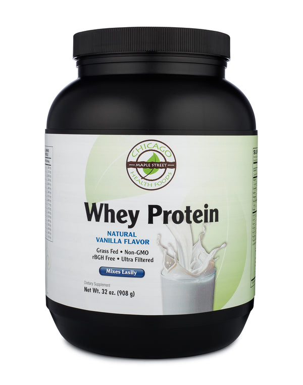 Whey protein vanilla-32oz--supplement-Chicago-Health-Foods.jpg