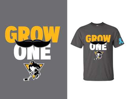 """Grow One"" WBS Penguins tshirt"