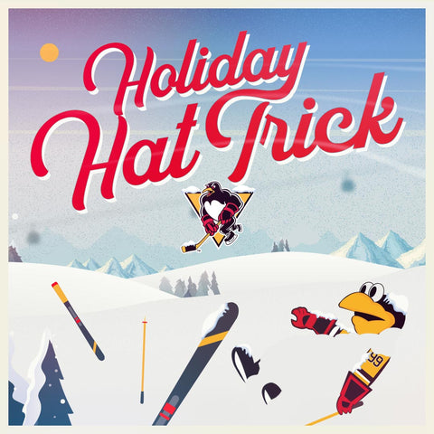 2019-20 HOLIDAY HAT TRICK - RED