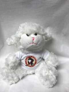plush Lamb w/WBS Penguins tshirt