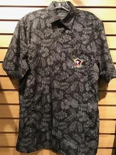 WBS Penguins Hawaiian camp shirt