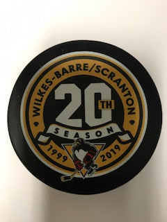20TH SEASON PUCK