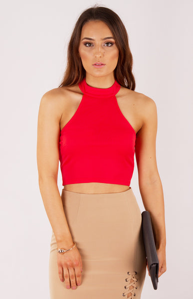 Blair High Neck Crop - Ajoy Levora - 1