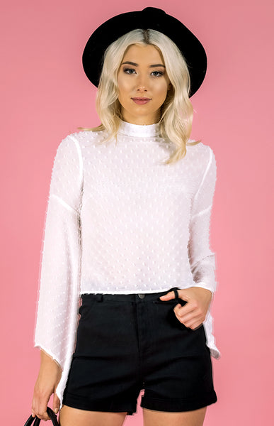 Pom Pom Textured Top (SST9)