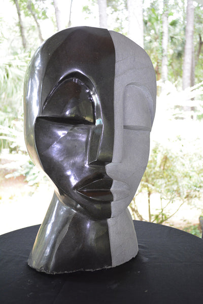 """Couples"" Shona Sculpture"