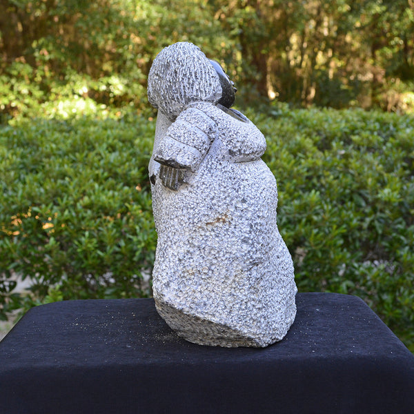 """Lovely Mammas"" Shona Sculpture"