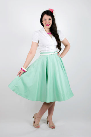 Sandy Swing Skirt - Mint