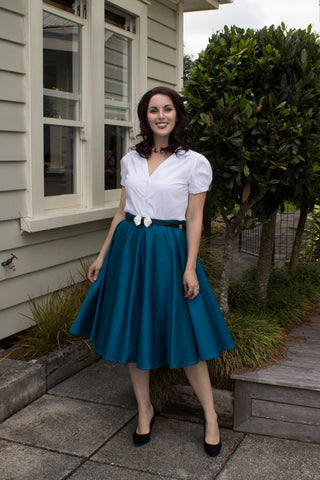 Sandy Swing Skirt - Teal - LAST TWO