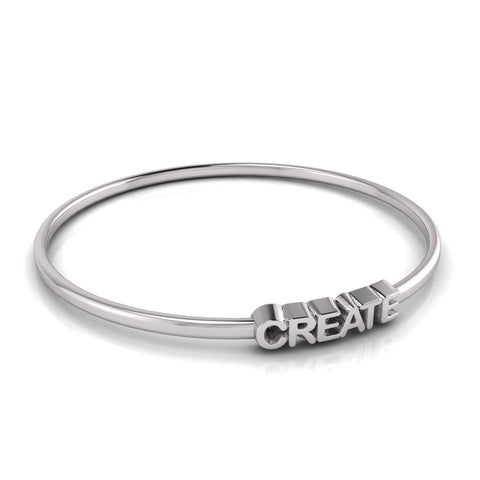 love letters CREATE bangle