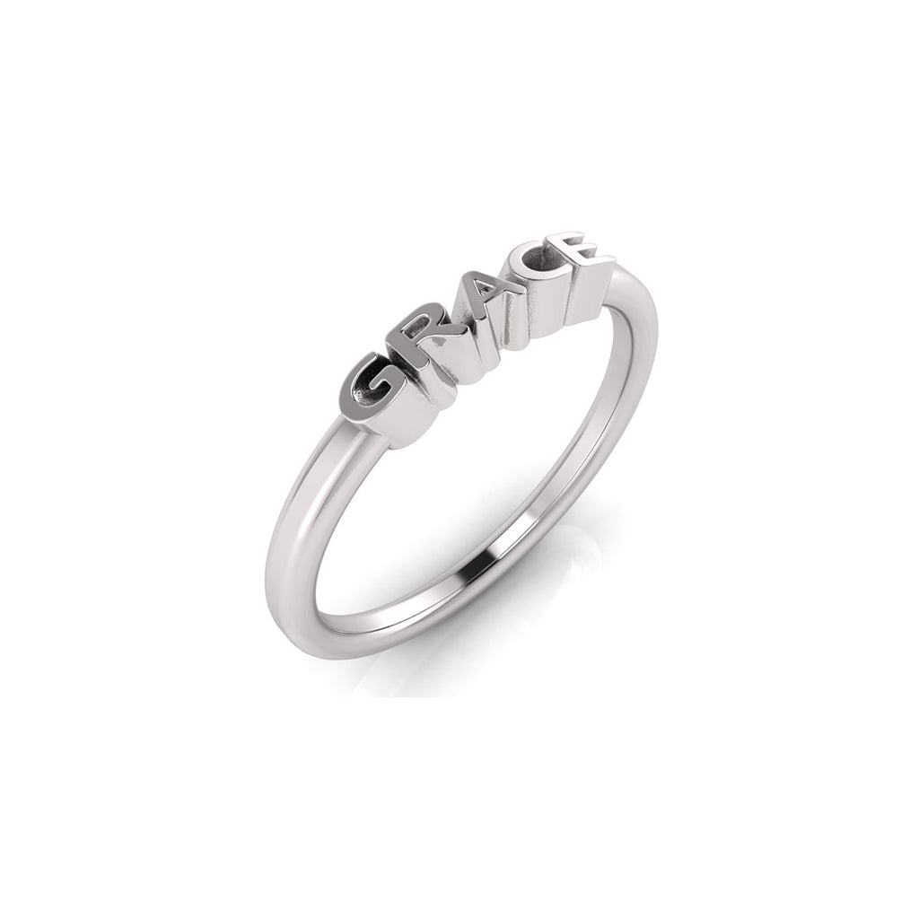 solid sterling silver GRACE ring