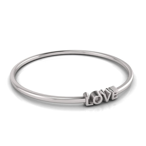 love letters LOVE bangle