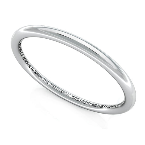 solid SERENITY bangle