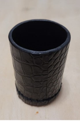 Leather Dice Stacking Cup / Chop Cup