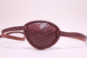 Eyepatch - Classic - Brown Alligator