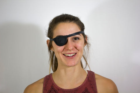 Slim Convex Eyepatch - Small