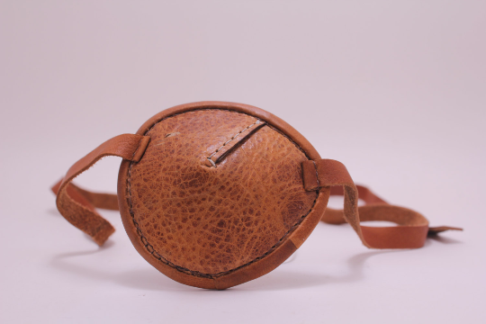 Eyepatch -Round- Brown