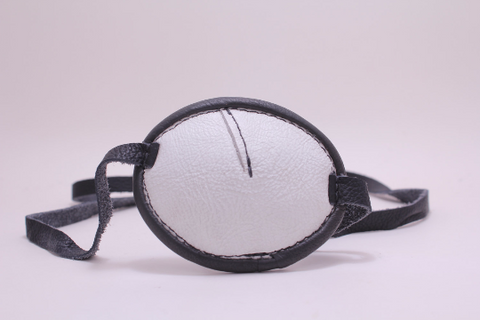 Eyepatch -Oval- Black and White