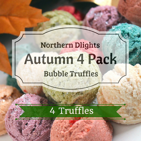 Autumn Scented Bath Truffle (4) Combo Pack