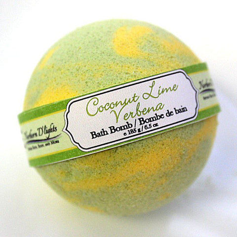 Coconut Lime Verbena Bath Bomb