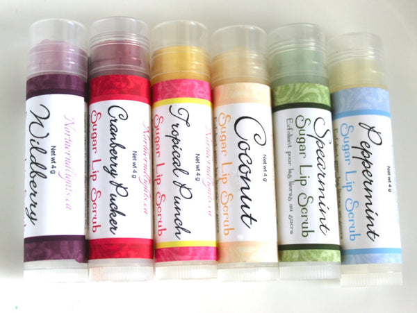 Flavored Lip Scrub - Ready to Ship - Northerndlights