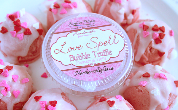Love Spell Bubble Bath Truffle Scoops - Northerndlights