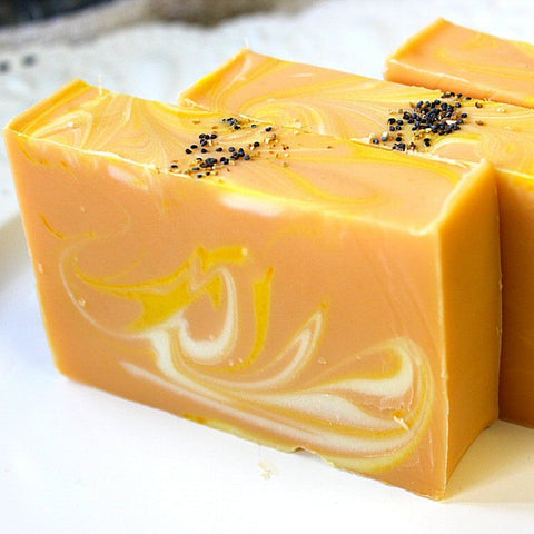 Orange Citrus Handmade Soap