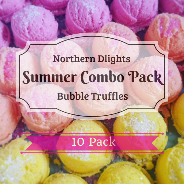 Summer Scented Bath Truffle (10) Combo Pack - Northerndlights