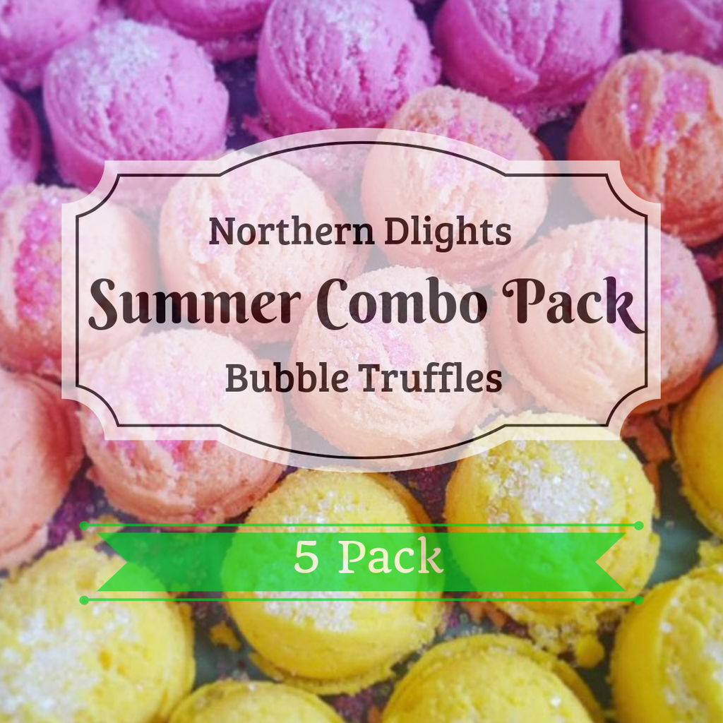 Summer Scented Bath Truffle (5) Combo Pack - Northerndlights