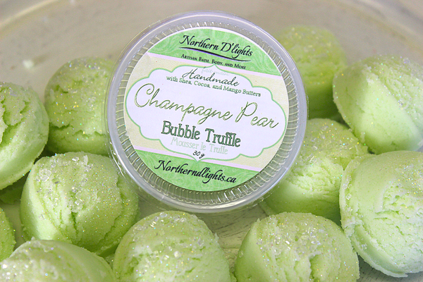 Champagne Pear Bubble Bath Truffles - Northerndlights