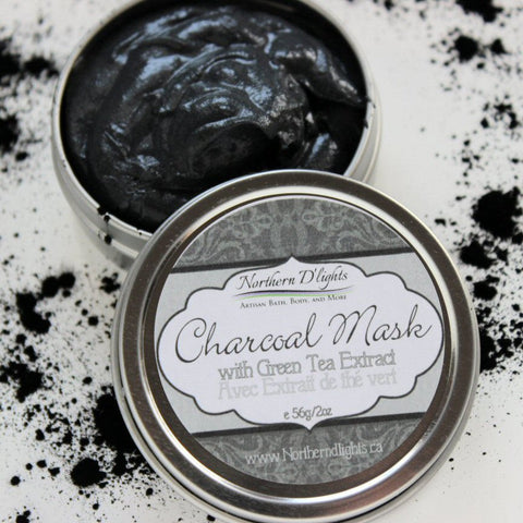 Activated Charcoal Face Mask - Northerndlights