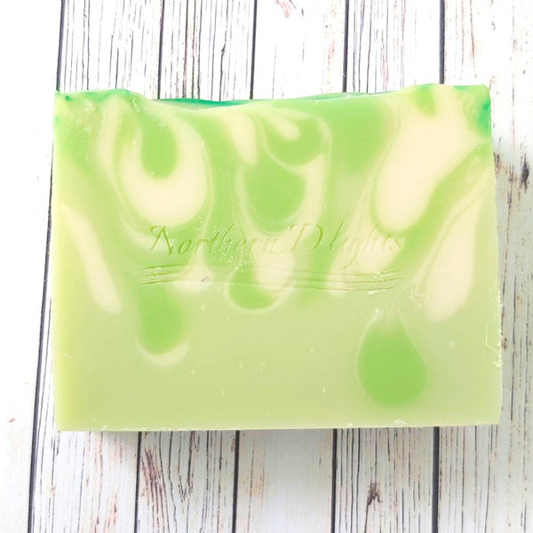 Coconut Lime Verbena Handmade Soap - Northerndlights