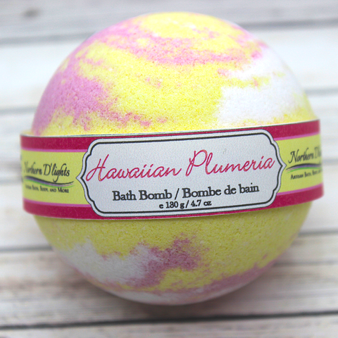 Hawaiian Plumeria Bath Bomb - Northerndlights