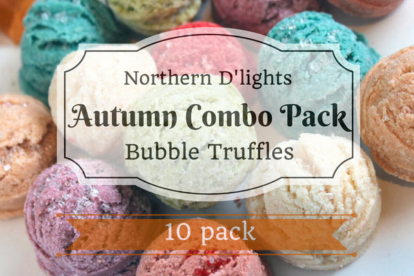 Autumn Scented Bath Truffle (10) Combo Pack - Northerndlights