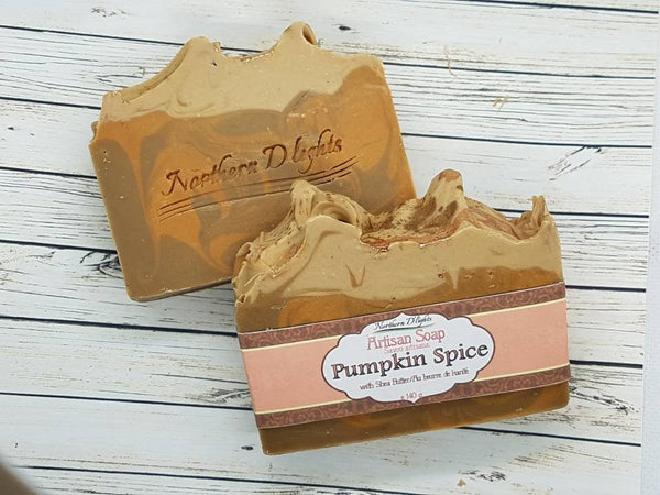 Pumpkin Spice Soap - Northerndlights