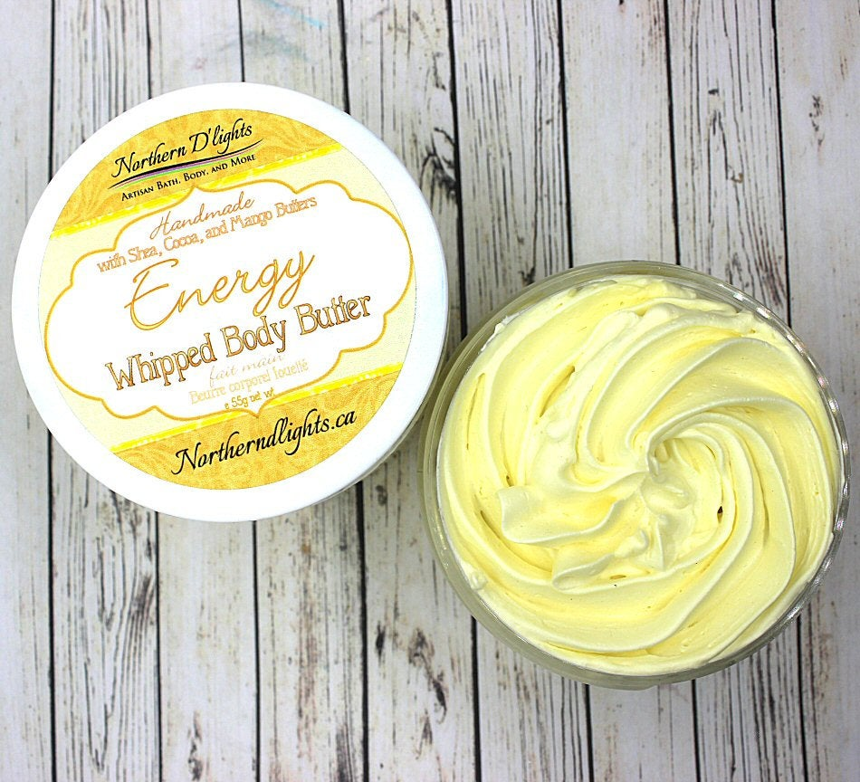 Energy Whipped Body Butter - Northerndlights