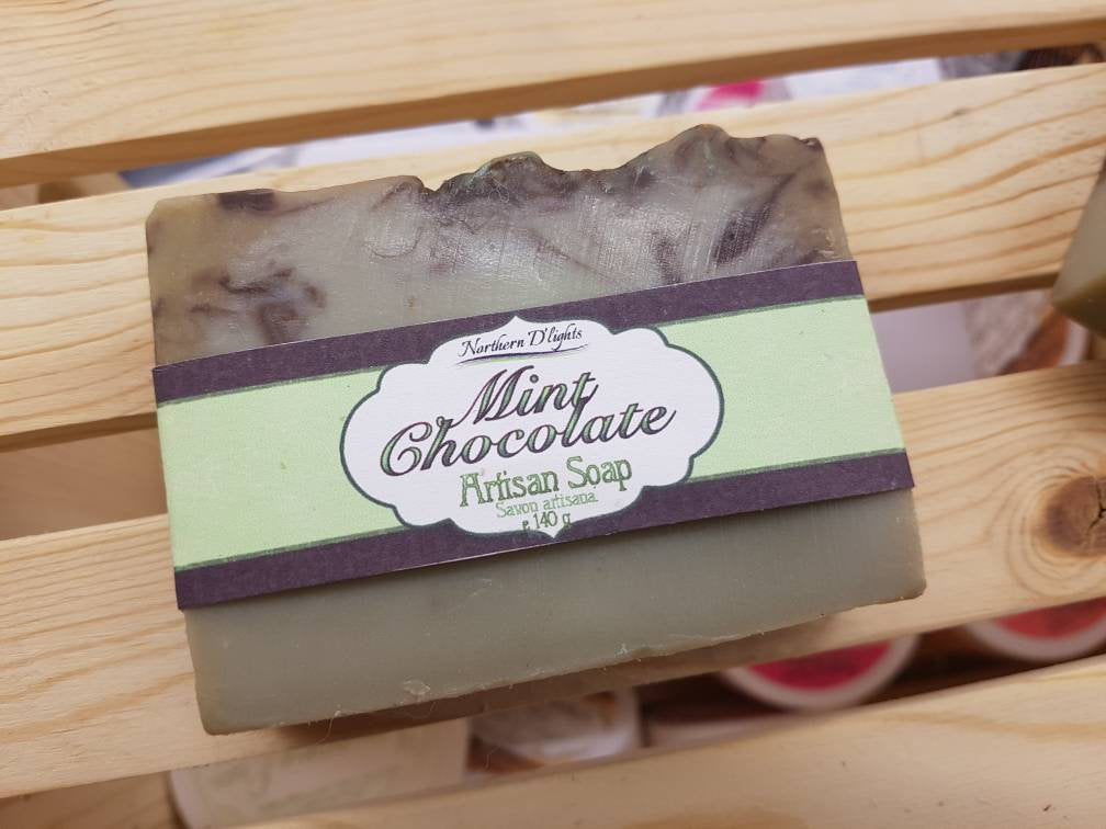 Chocolate Mint Soap - Northerndlights