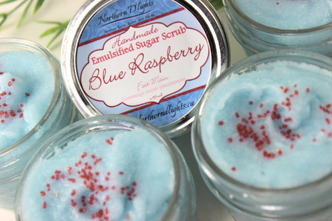 Blue Raspberry Sugar Scrub - Northerndlights