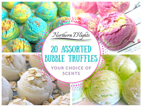 Assorted Bubble Bath Truffles - 20 Pack
