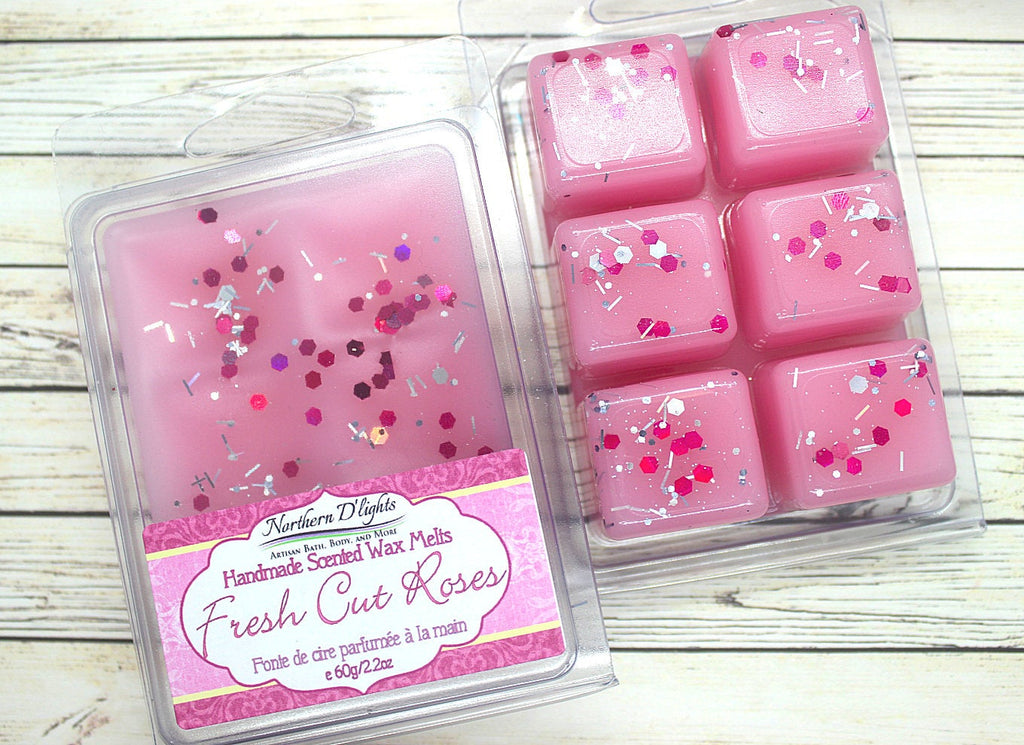 Rose Scented Wax Melts - Northerndlights