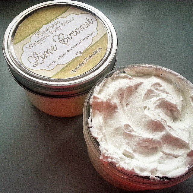 Lime Coconut Whipped Body Butter