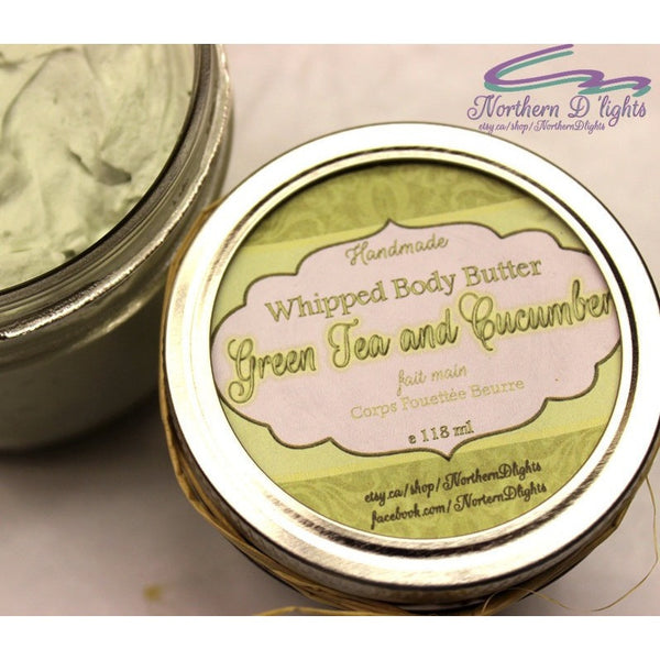 Green Tea Whipped Body Butter
