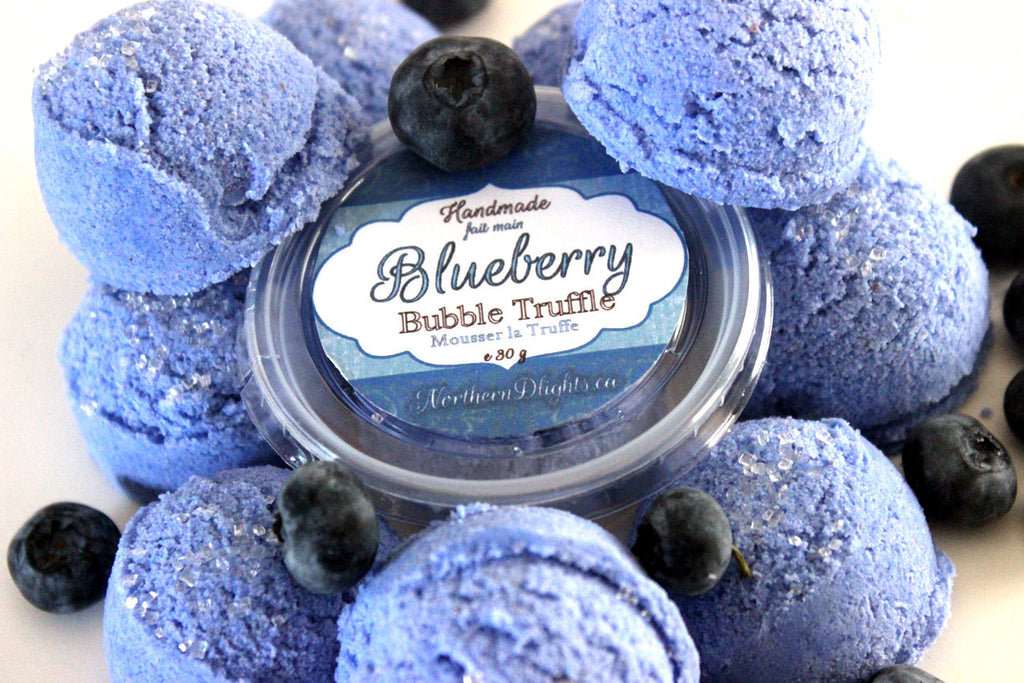 Blueberry Bubble Bath Truffle Scoops
