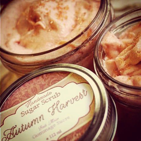 Autumn Harvest Whipped Sugar Scrub