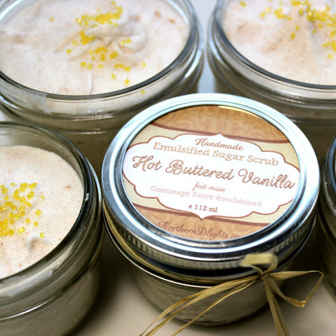 Hot Buttered Vanilla Whipped Sugar Scrub - Northerndlights