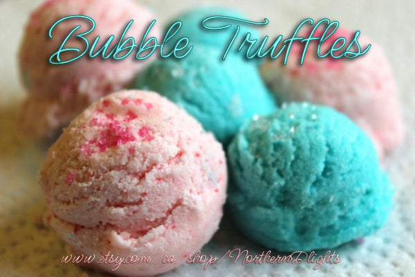Cotton Bubble Bath Truffle Scoops - Northerndlights