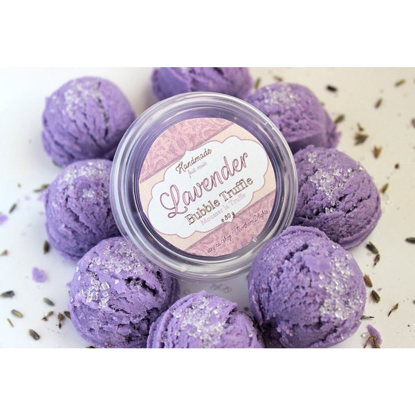 Lavender Bubble Bath Truffle Scoops - Northerndlights