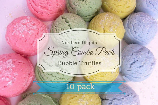 Spring Scented Bath Truffle (10) Combo Pack - Northerndlights