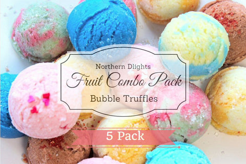 Fruity Scented Bath Truffle (5) Combo Pack