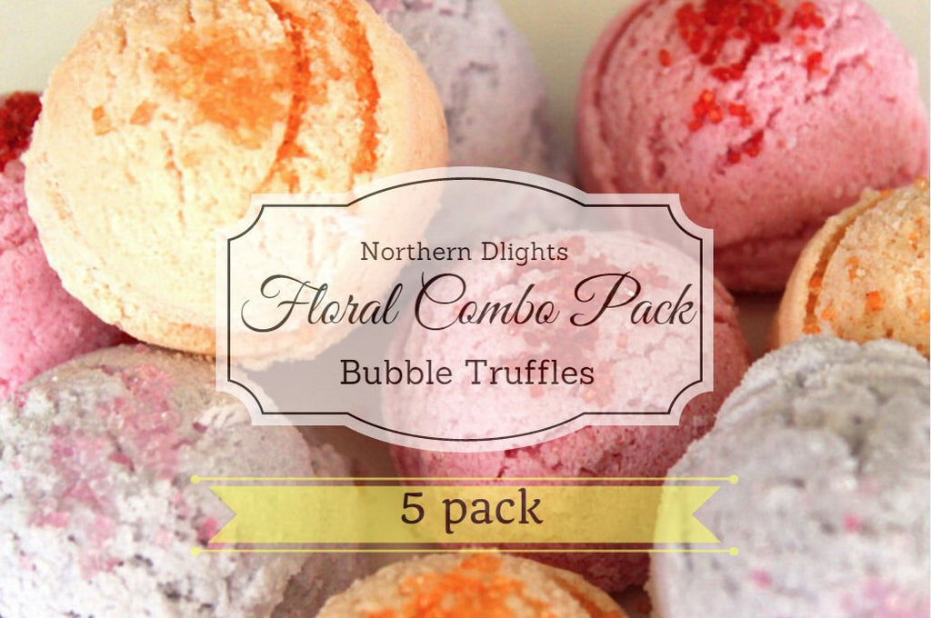 Floral Scented Bath Truffle (5) Combo Pack